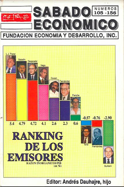 Sabado Economico - Ranking de los emisores