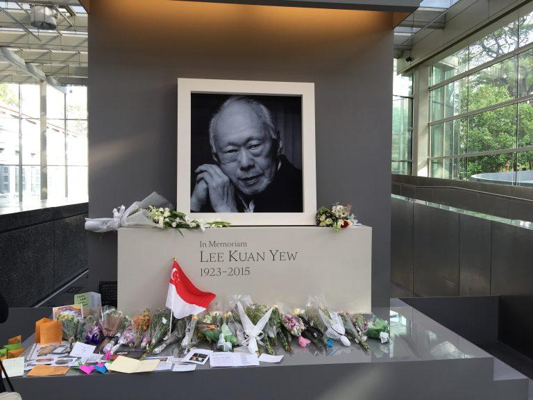En Memoria de Lee Kuan Yew, 1923-2015, Singapur, 25 de marzo de 2015.